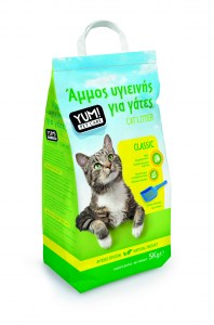 YUM CAT LITTER CLASSIC 3D