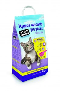 YUM CAT LITTER LAVENDER 3D